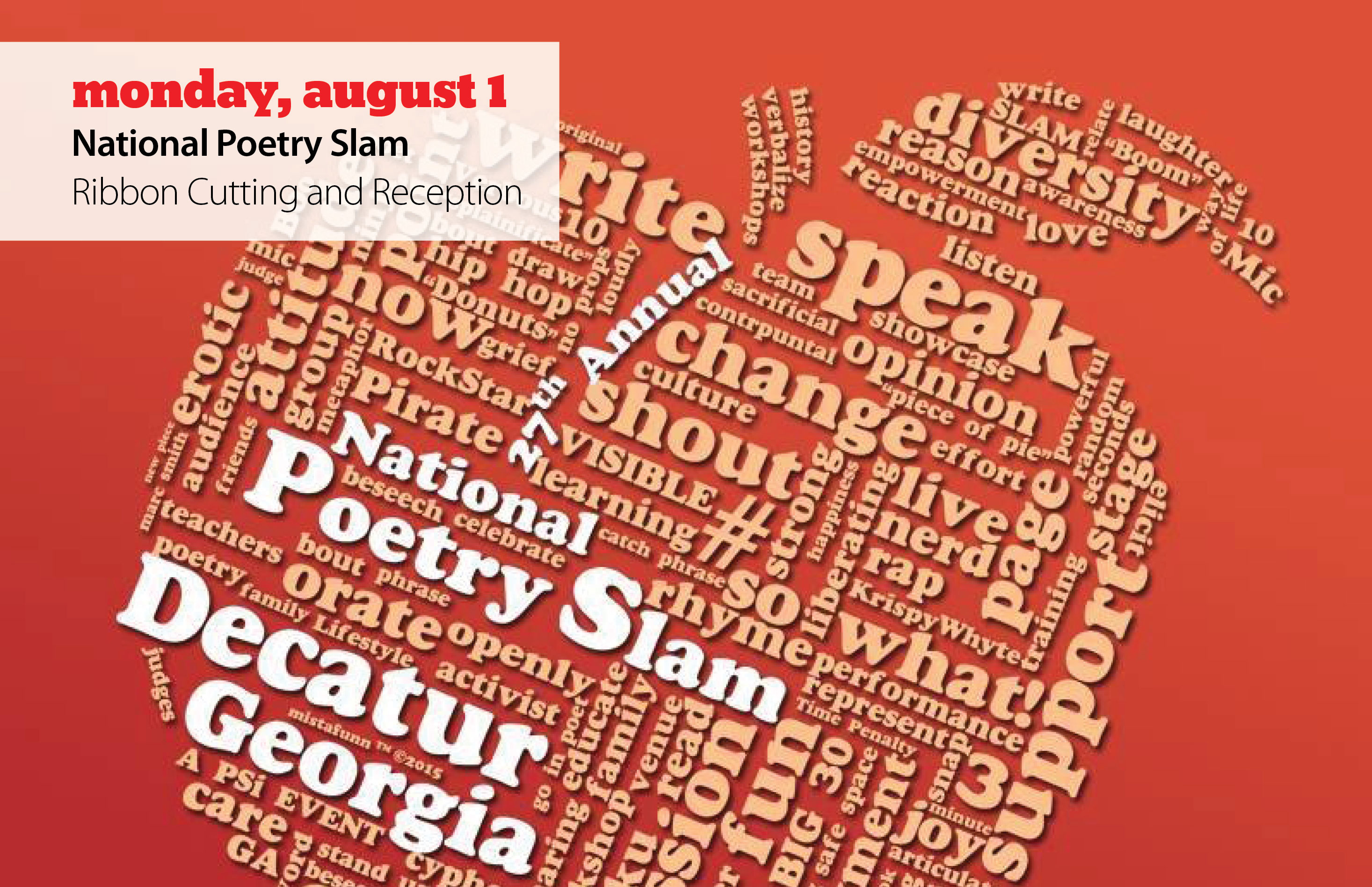 Welcome The National Poetry Slam To Decatur With Us