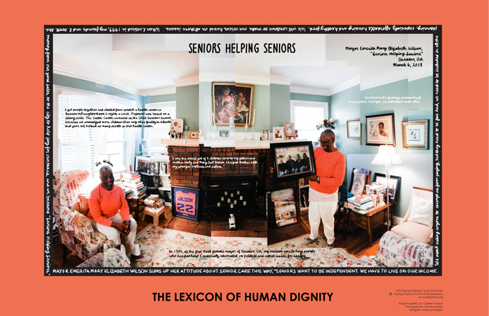 On The Wall: The Lexicon Of Human Dignity