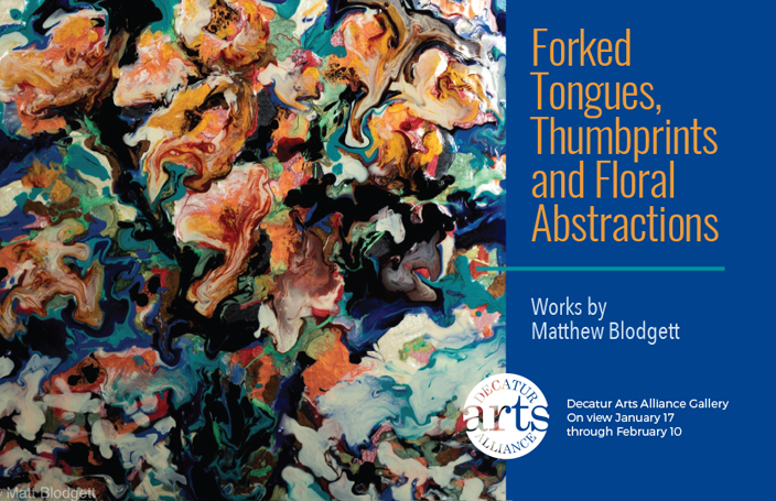 Forked Tongues, Thumbprints And Floral Abstractions