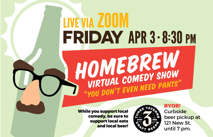 Pants Optional: April Fools Homebrew Comedy